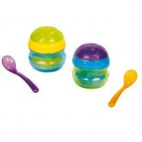 Set de 2 petits pots gourmands