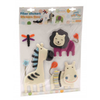 Stickers tissu - Animal Nature