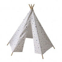 Tipi enfant motifs triangles et étoiles