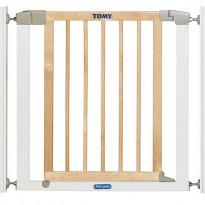 Barrière de porte métal et bois