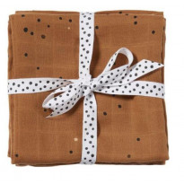 Set de 2 langes d'emaillotage Dreamy dots