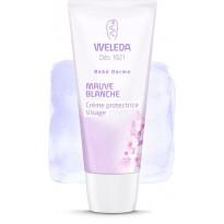 Crème protectrice visage à la mauve blanche bio Bébé Derma