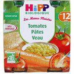 Tomates Pâtes Veau 250g dès 12 mois