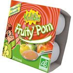 FRUITY POM Pomme 4 x 100 g