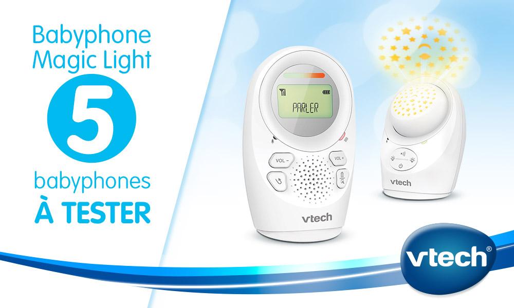 baby test babyphone vtech