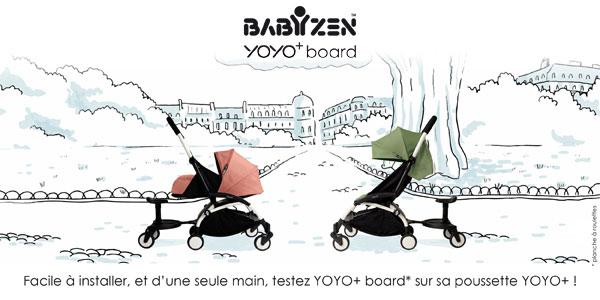 baby test babyzen yoyo+ board poussettes yoyo+