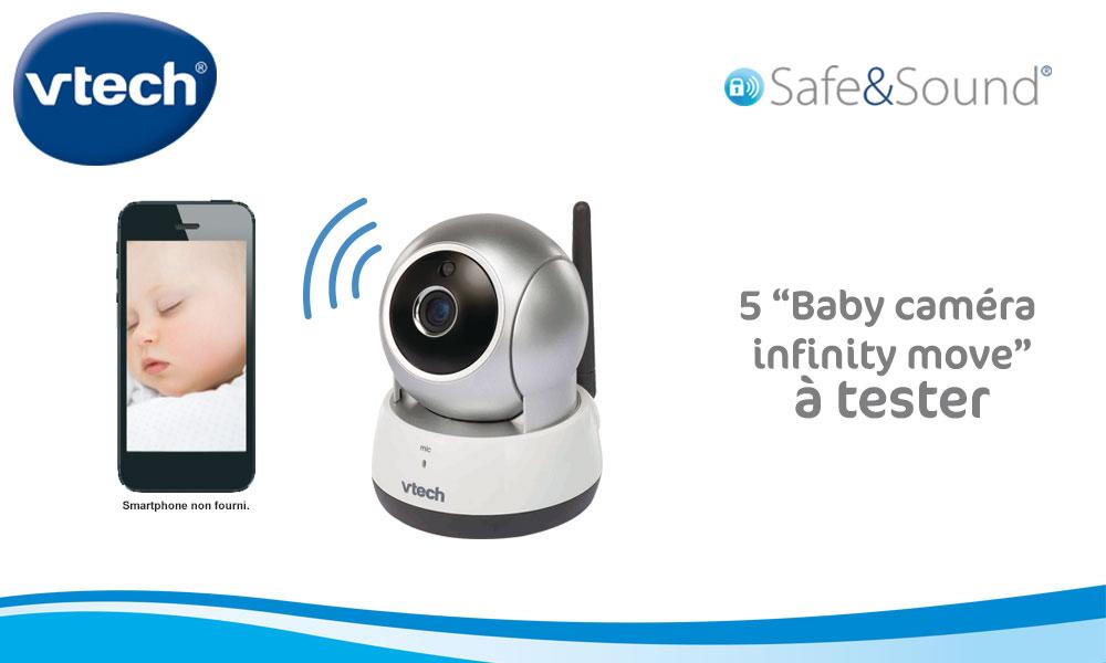 baby test Camera Infinity Move Vtech