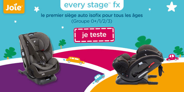 baby test siege auto every stage fx joie