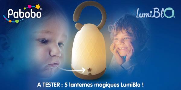 baby test lanterne magique LumiBlo Pabobo