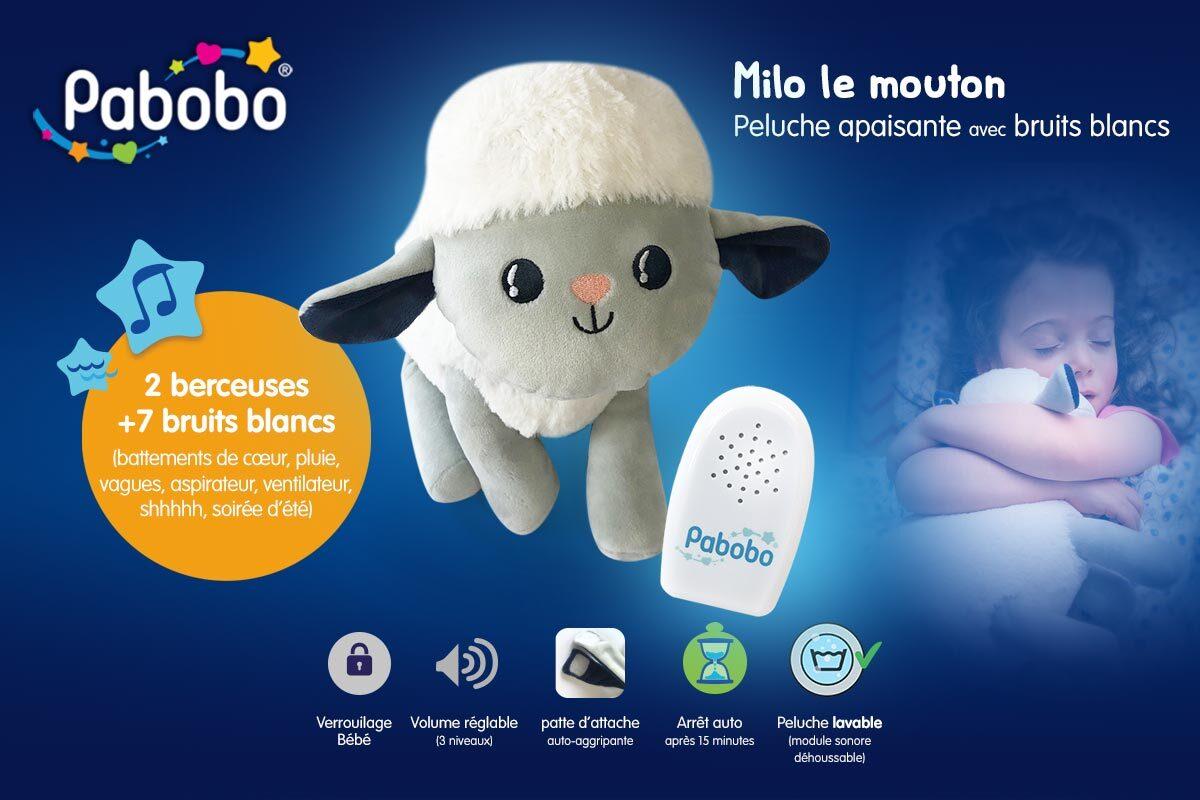 baby test Milo le Mouton berceur pabobo
