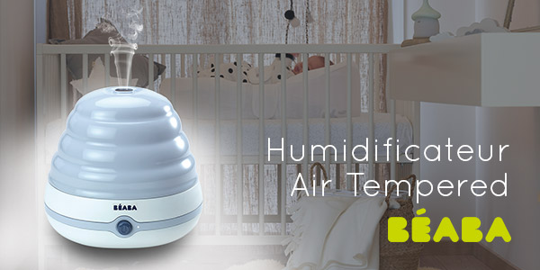 baby test humidificateur air tempered beaba