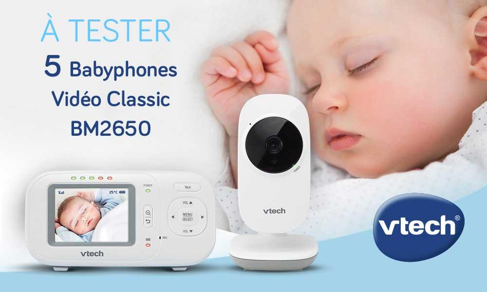 baby test babyphone de vtech consobaby. Black Bedroom Furniture Sets. Home Design Ideas