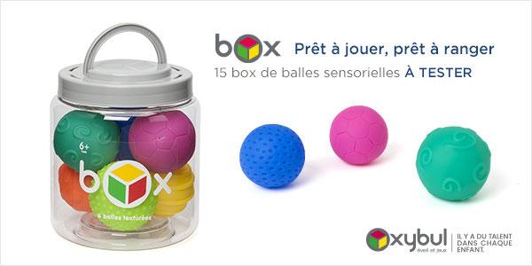 baby test balles sensorielles oxybul