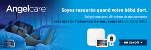 babyphone angelcare a decouvrir