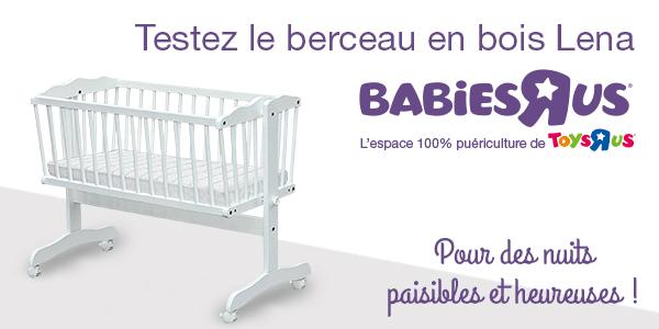 baby test berceau lena toys r us
