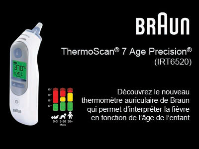 test thermoscan Braun