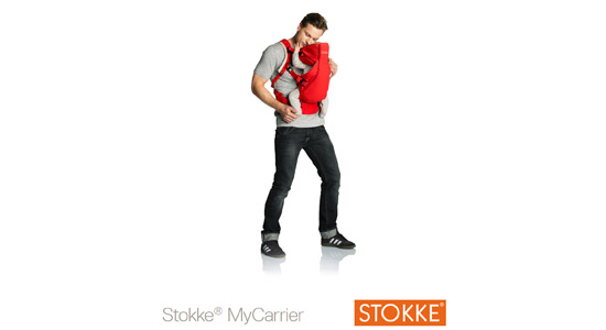 Porte bébé Mycarrier Stokke