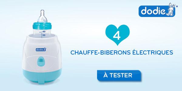 baby test chauffe biberon électrique dodie