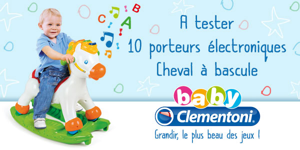 test cheval mistral clementoni