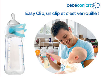 test biberon easy clip