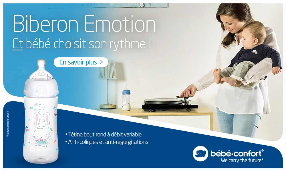 baby test emotion biberon bebe confort