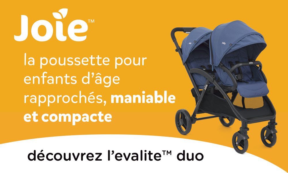 baby test Poussette evalite™ duo Joie