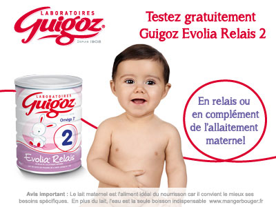 test evolia relais 2 guigoz