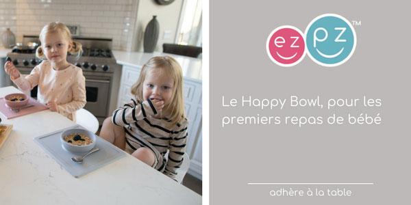 baby test happy bowl ezpz