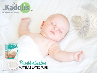 test matelas bebe latex