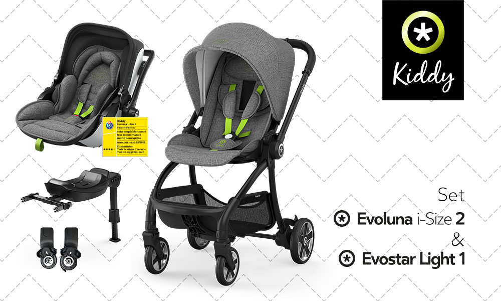 baby test kiddy pack evostar