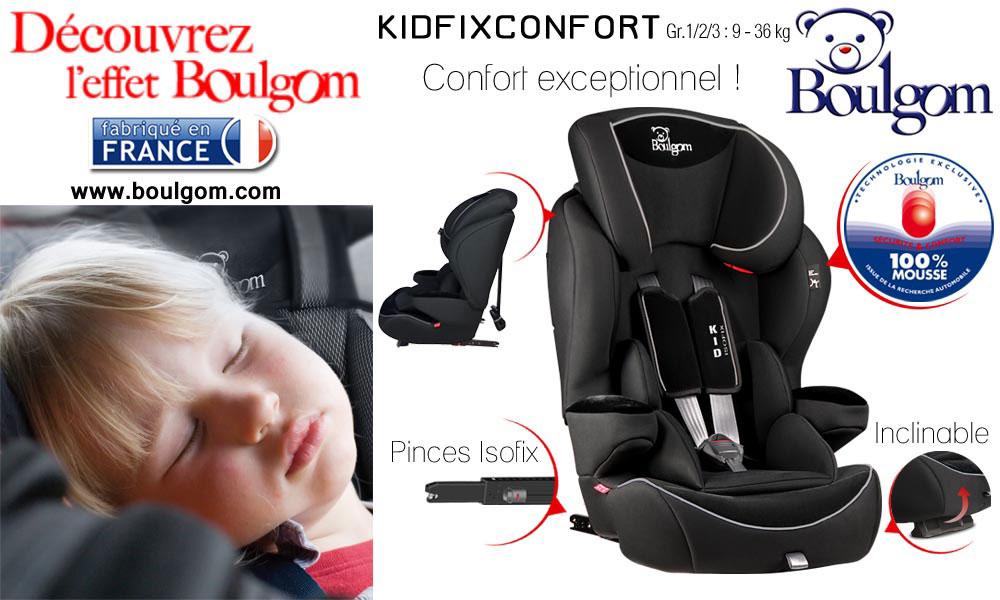 baby test kidfix confort boulgom