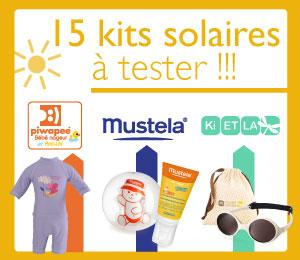 test kit solaire