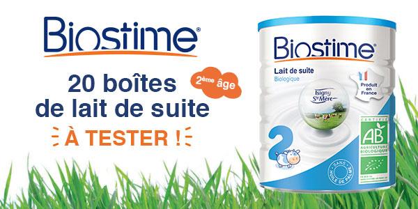 baby test lait de suite biostime