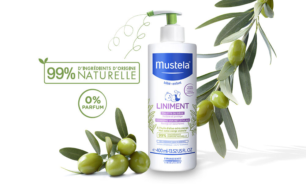 baby test mustela liniment