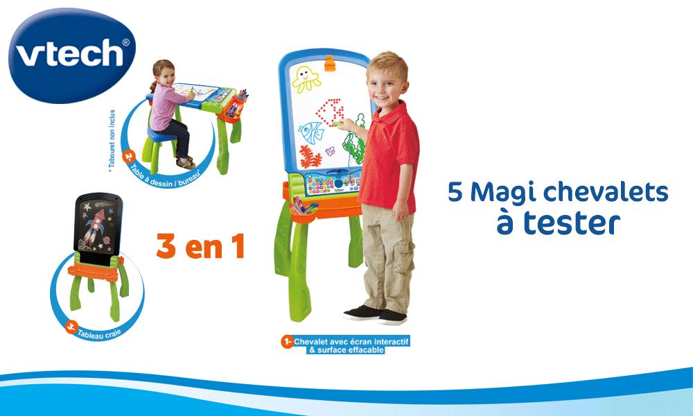 baby test magi chevalet interactif Vtech