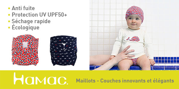 baby test maillot couche hamac