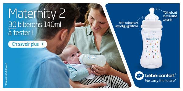 baby test biberon 140ml maternity 2 bebe confort