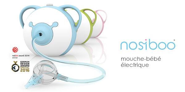 baby test mouche bébé électrique de nosiboo