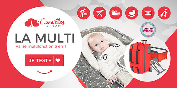 baby test canailles dream valise la multi multifonction 6 en 1