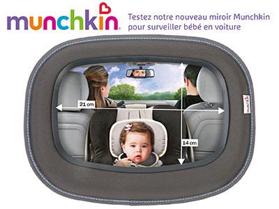 a tester : miroir bébé voiture