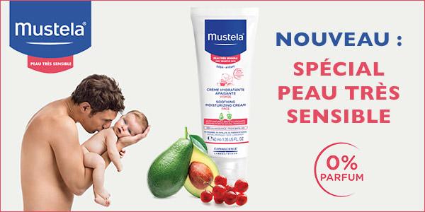 baby test creme hydratante apaisante mustela