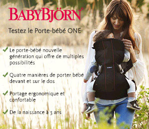 test porte-bebe one babybjorn
