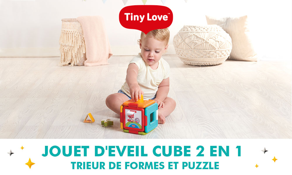 baby test Cube Magique Tiny Love
