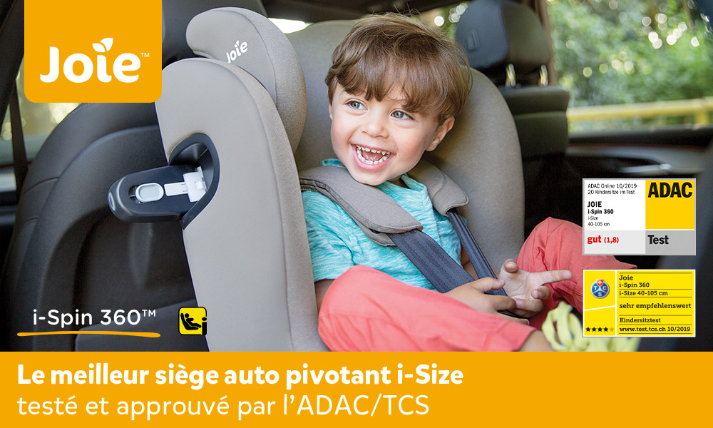 baby test le siège auto i-Spin 360 Joie