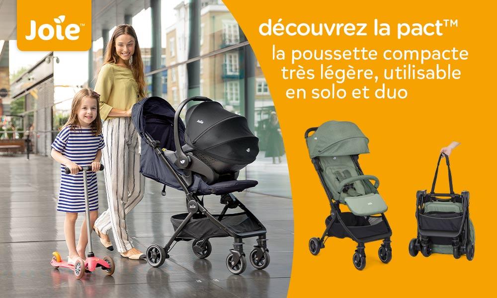 babytest Poussette Pact JOIE