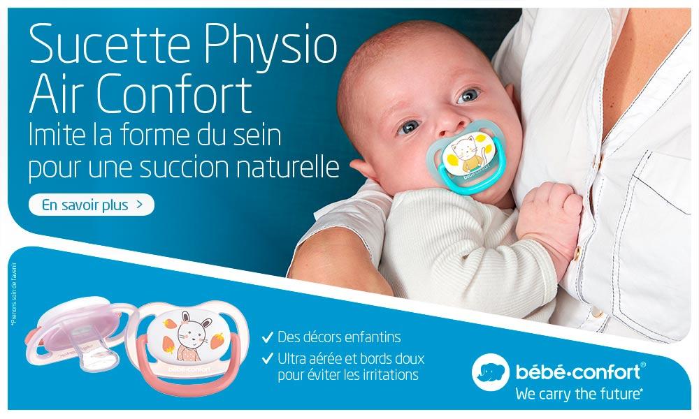 baby test sucettes bébé confort