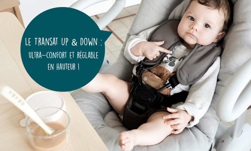 baby test Transat Up & Down IV  beaba