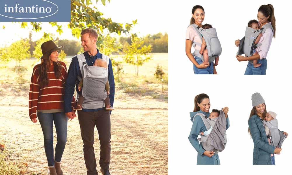 baby test porte bebe in season infantino