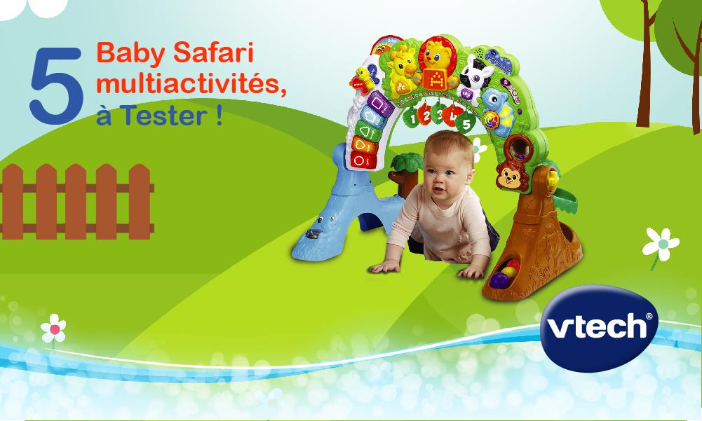 baby test baby safari multi-activités VTECH