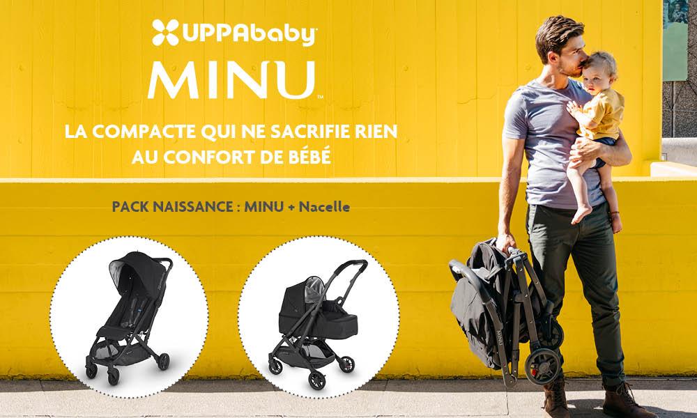baby test Pack naissance (poussette Minu + nacelle)